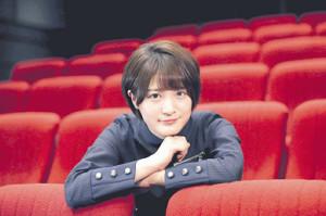 「今後も演技の仕事に挑戦したい」と語った欅坂46の織田奈那(カメラ・関口 俊明)