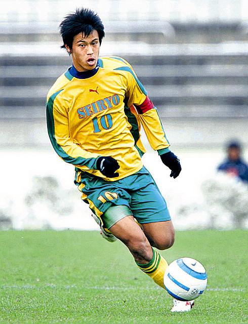 05年1月、高校サッカー選手権に出場した星稜・本田