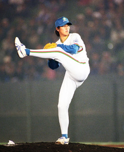 1997年10月19日、日本シリーズ・ヤクルト・西武・第2戦。好救援で7年ぶりのシリーズ新人勝利を挙げた森慎二さん