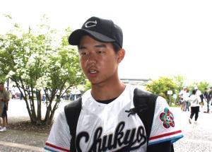 3安打2打点と活躍した中京大中京のスーパー1年生・印出