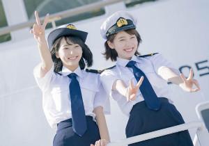 昨年7月に放送された「マジで航海してます。」に主演した武田玲奈(左)と飯豊まりえ。2人のその後が描かれる(C)MBS