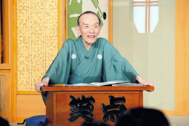 「笑点」の顔として日本中に笑いを届け、天国へ旅立った桂歌丸さん(15年8月の「笑点」から)