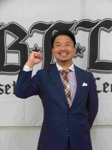 堺市の新球団監督に就任した大西宏明氏