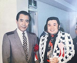 生前の三船敏郎さんには「かわいがってもらいました」
