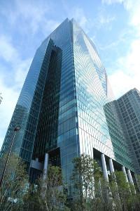 テレビ東京局舎(六本木グランドタワー)
