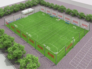 7月21日にオープンする「ローヴァーズスポーツパーク」(完成予想図で実際とは異なる場合があります)