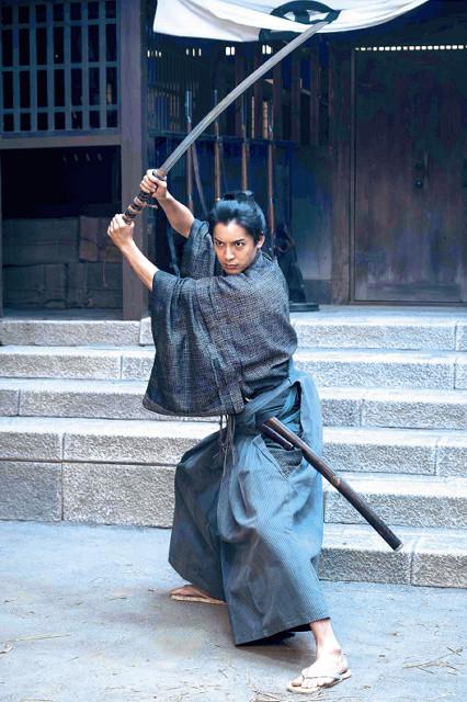 天才的な剣術を誇る薩摩藩士・中村半次郎を演じる大野拓朗