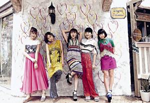 ジャパン・アンバサダーを務める「Little Glee Monster」の(左から)かれん、MAYU、芹奈、manaka、アサヒ
