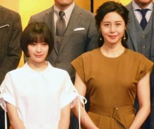 2019年4月スタートのNHK朝ドラ「なつぞら」のヒロイン・広瀬すず(左)と育ての母役の松嶋菜々子