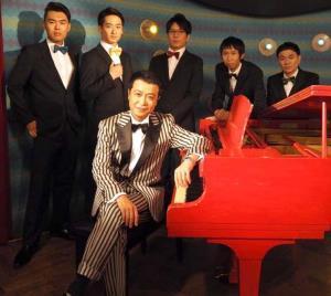 9月9日に一夜限りのスペシャルライブを行う中山秀征
