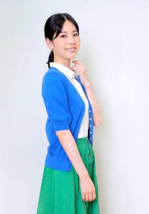 好きな朝ドラは「堀北真希さんの『梅ちゃん先生』でした」と語った咲坂実杏(カメラ・生澤 英里香)