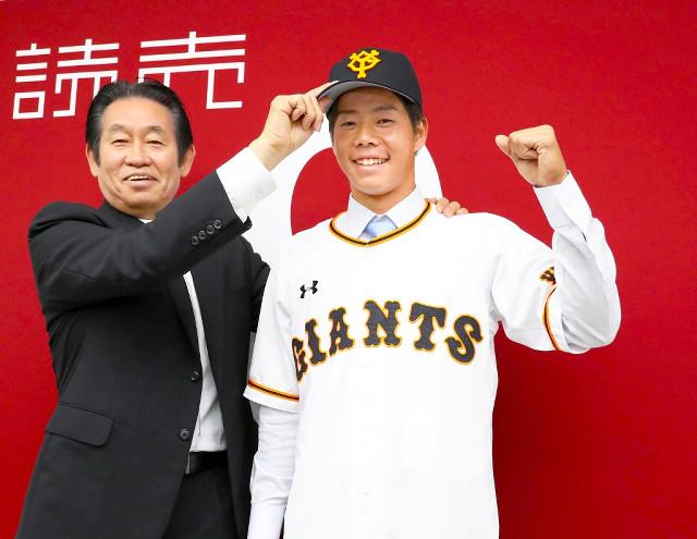 【巨人】育成の松原聖弥と支配下選手契約「ここからが ...