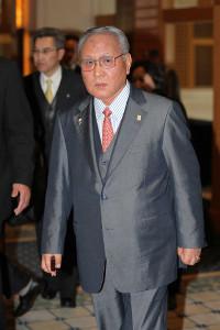 日本アマチュアボクシング連盟の山根会長