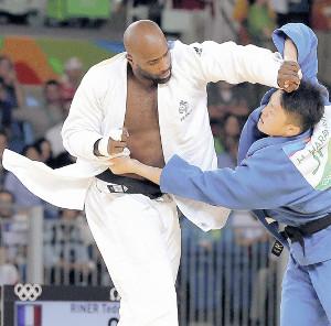 柔道男子100kg超級(決勝)テディ・リネール