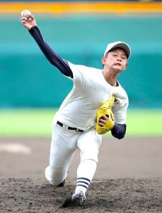 球速150キロを記録した日大三の2年生右腕・井上広輝