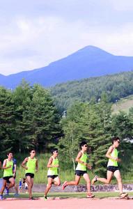 富士見高原を拠点に練習を積んだ早大