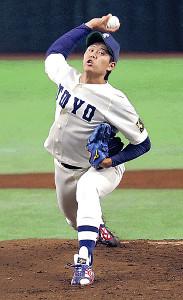 阪神のドラフト1位候補に急浮上した東洋大・上茶谷
