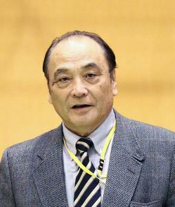 塚原光男・日本体操協会副会長