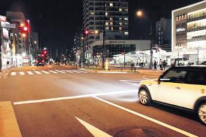 吉澤容疑者が事故を起こした中野区内の交差点