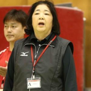 日本体操協会の塚原千恵子・強化本部長