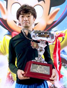 通算8度目のG1優勝を飾った辻栄蔵