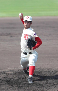 智弁和歌山・平田投手
