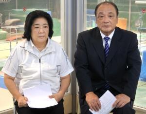 塚原千恵子氏と塚原光男氏