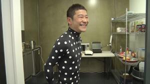 ZOZOスーツ着用の前澤社長