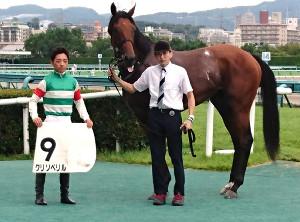新馬戦の勝ち馬・クリソベリル