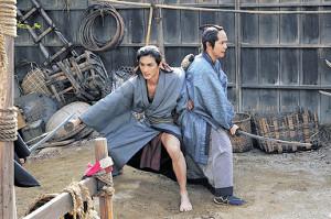 ちゃんばら映画に初挑戦した高良健吾(左)と、弟役の木村了(C)「多十郎殉愛記」製作委員会