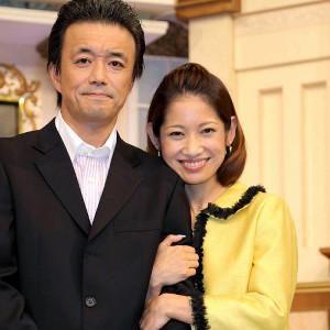 大渕愛子弁護士(右)と夫の金山一彦(14年)