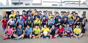 リーチ先輩のエールに応え、南大会2年ぶりVを誓う札幌山の手チーム