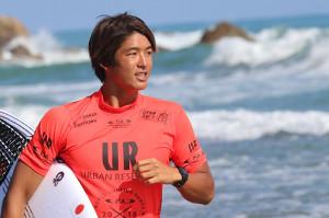 サーフィンのワールドゲームスで日本人初の銀メダルを獲得した五十嵐カノア(カメラ・太田 涼)