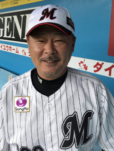 ロッテ・福嶋打撃投手