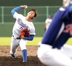 9回を4安打1失点と好投した函館大・高橋
