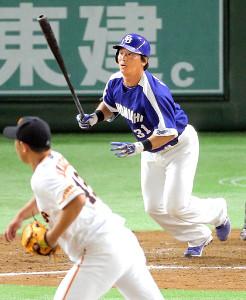 引退を表明した中日・野本(7月27日撮影)