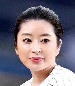 テレビ番組で結婚を発表した土岐田麗子