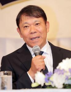 オリックスの監督に就任した西村徳文氏