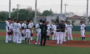 川崎市内で合宿をスタートした稲葉監督率いるU23侍ジャパン