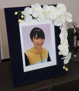 亡くなった大本萌景さんの写真