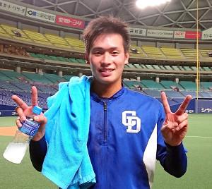 13日の阪神戦でデビューする可能性が高いドラフト2位ルーキーの石川翔