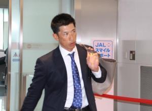 宮崎・フェニックスリーグから緊急で帰阪した矢野2軍監督