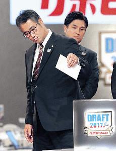 明石家さんまのアドバイスを受けて早実・清宮の交渉権を獲得した木田GM補佐