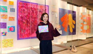 ベッキー、初のアート展が福岡で開催決定「観にいらしてください