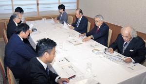 選考委員が出席したゴールデンスピリット賞選考委員会