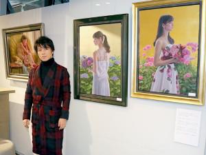 ベッキー&新川優愛肖像画で話題の画家・中島健太氏、中目黒で