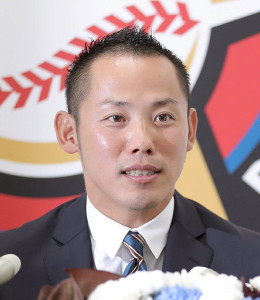 今季限りで現役を引退した日本ハム・矢野謙次