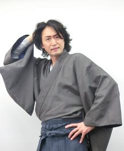 新派公演「犬神家の一族」で金田一耕助を演じる喜多村緑郎