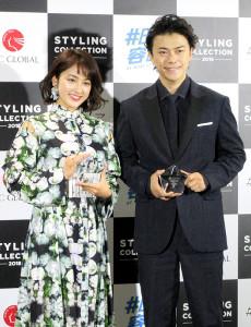 「ベスト スタイリング アワード 2018」に出席した勝地涼、平祐奈