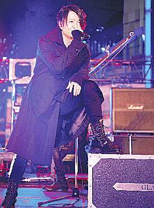 新曲の発売記念ライブを行った「GLAY」のTERU